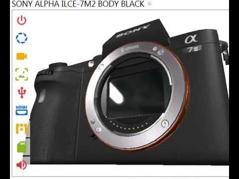 [NEW] Sony Alpha ILCE-7M2 Body Black Overview