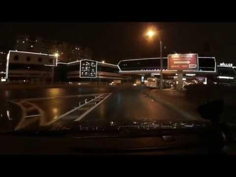Тест автомобильных светодиодных ламп H7 и HB4 в дождь VW Tiguan