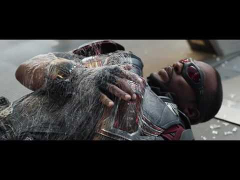 Capitan America Civil War escena Spider-Man, pelea en el aeropuerto [Español Latino FULL HD]