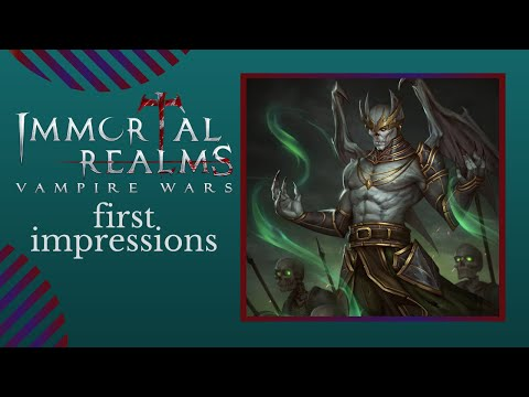 First Impressions   TOTAL WAR MEETS VAMPIRES   Let's Play IMMORTAL REALMS VAMPIRE WARS Gameplay PC
