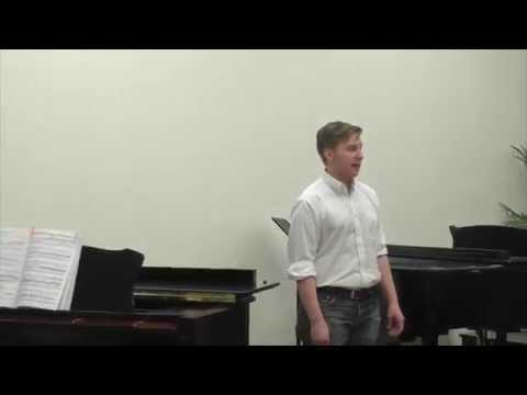 Revenge! Timotheus Cries by G.F. Handel, performed by Dominic Zappala
