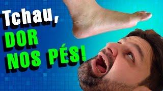 Nos pés vascular dano