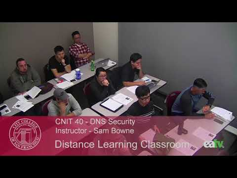 CNIT 40 - DNS Security, August 22, 2017 Lecture