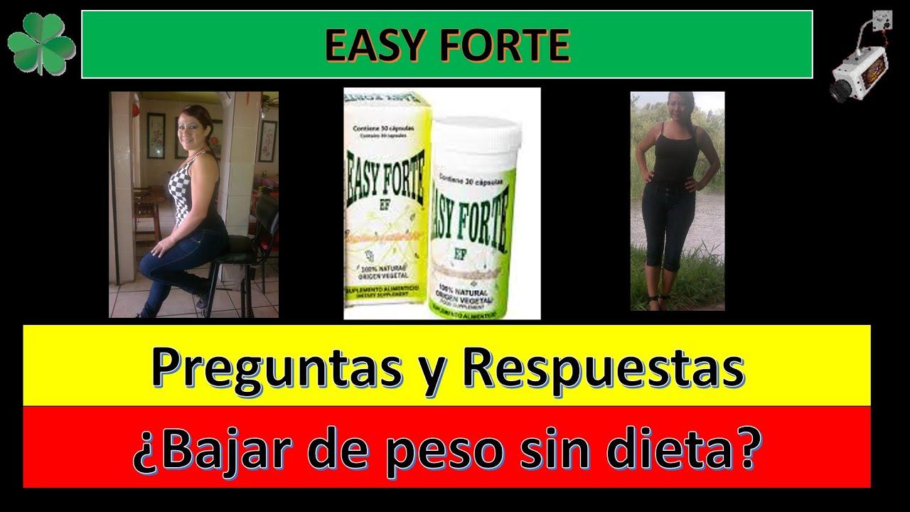 pastillas easy forte para adelgazar