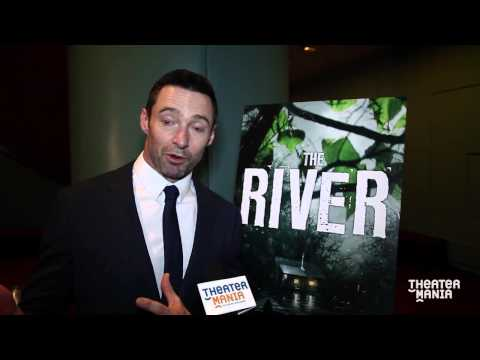 Hugh Jackman Celebrates His Broadway Return on Opening Night of The River