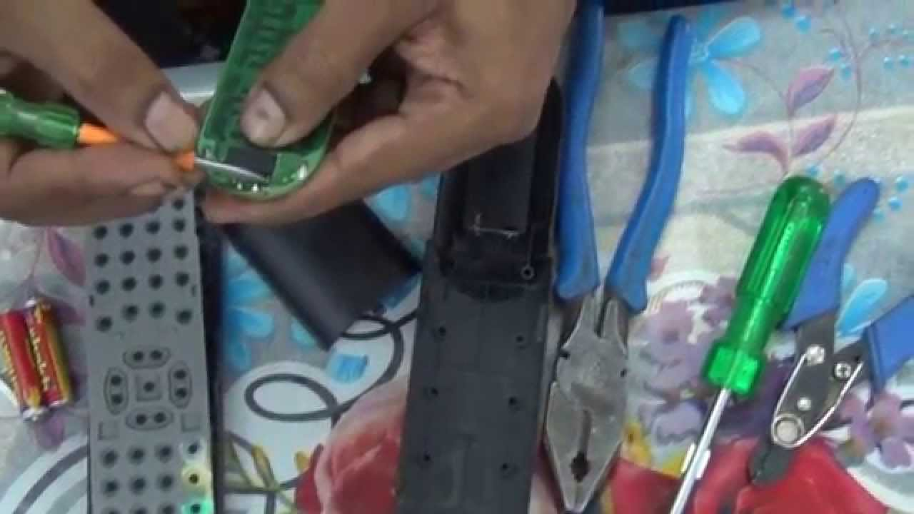 Easy Steps To Repair Vu Led Tv Remote Control Hindi