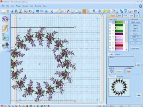 5d embroidery extra new features part 2 youtube for Project 5d