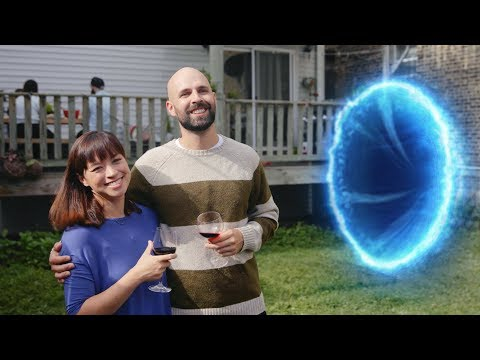 Sustainability! This Couple Cooks All The Meat That Comes Flying Out Of The Portal In Its Backyard
