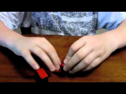 how to build a lego minecraft magma cube