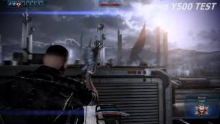 Lenovo Y500 gameplay Mass Effect 3 (Max settings on 1920x1080)