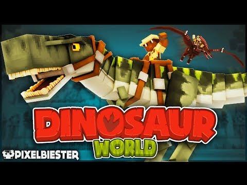 Dinosaur World By Pixelbiester [Minecraft Marketplace]