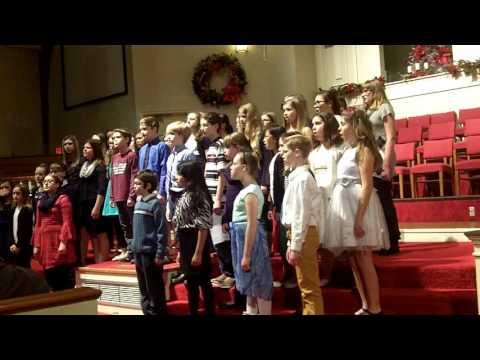 Rolla Middle School Honor Choir Christmas 2015 Concert