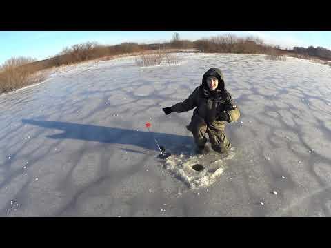 Первый лёд 2019. Рыбалка на жерлицы. Ледяные цветы.