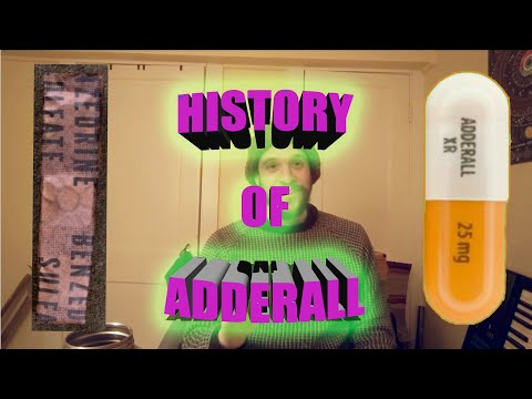 History Of Adderall         [WATCH]