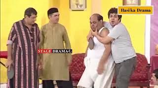 Zafri Khan Sajan Abbas New Pakistani Stage Drama Full Comedy Clip