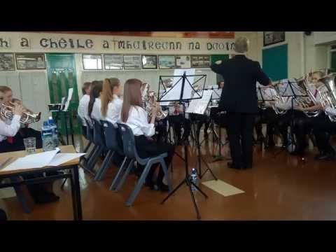 Lourdes Junior Brass Band (LBB2)  Performing Slaidburn in Clonakilty 2016