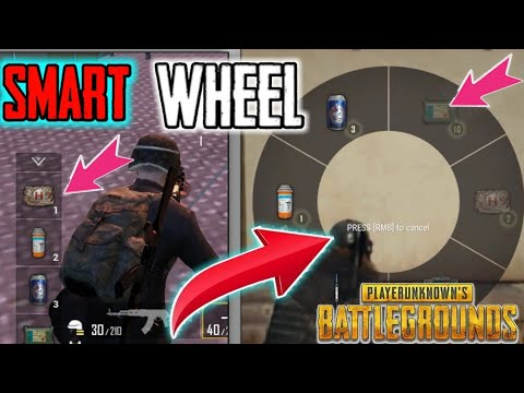 Pubg New Feature Smart Wheel Pubg Update In Hindi Youtube