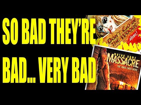 Low Budget Horror Movies: 2 Of The Worst I Have Ever Seen.