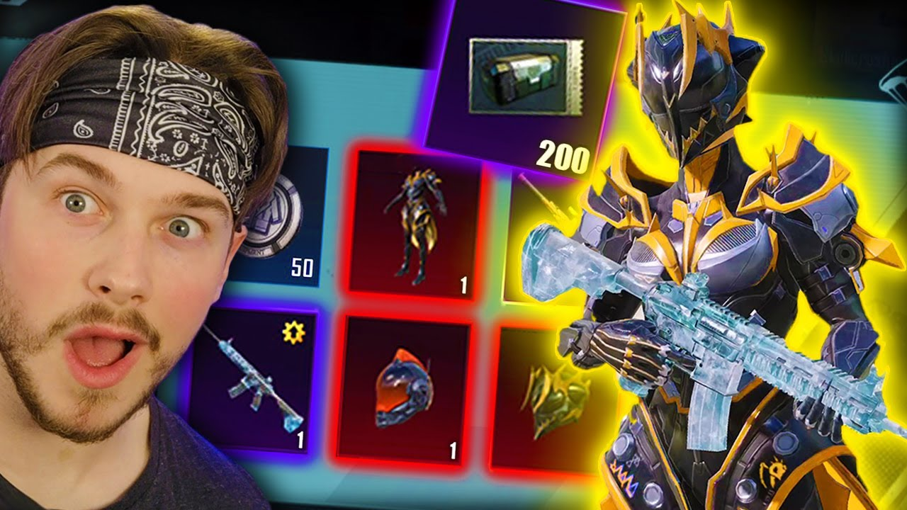 200 CRATES for M4 GLACIER + NEW MYTHIC!😍🔥