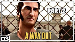 A Way Out Gameplay German PS4 #2 - Vincent & Leo das Dreamteam? - Let's Play A Way Out Deutsch