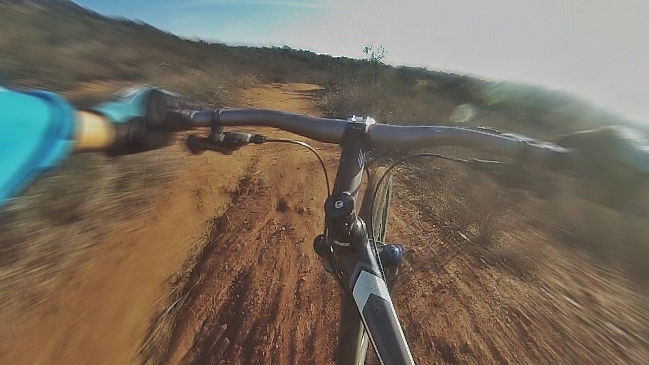 Fast Downhill Mtb Trail
