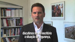 Mensagem da Cruz Vermelha em homenagem a Sergio Vieira de Mello