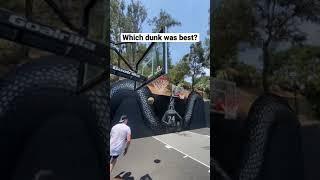 Which Dunk was Best???