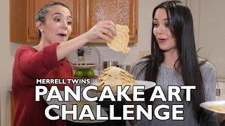 PANCAKE ART CHALLENGE - Merrell Twins thumbnail