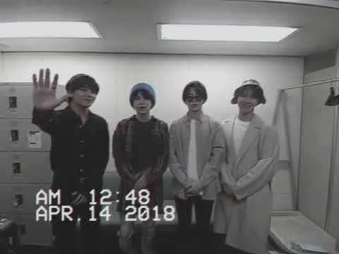 [180414] BTS  IN JAPAN BEFORE HANDSHAKE EVENT OSAKA + TAEHYUNG WITH HIS MULLET HAIRSTYLE CONFIRMED