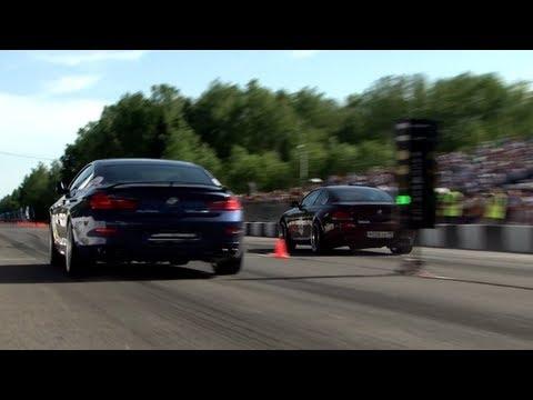 BMW M6 G-Power vs BMW Alpina B6 vs BMW M6 ESS vs Cayenne Turbo S