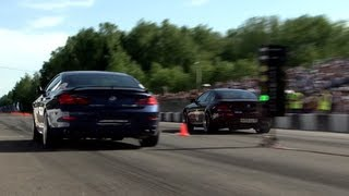 BMW M6 G-Power vs BMW Alpina B6 vs BMW M6 ESS vs Cayenne Turbo S