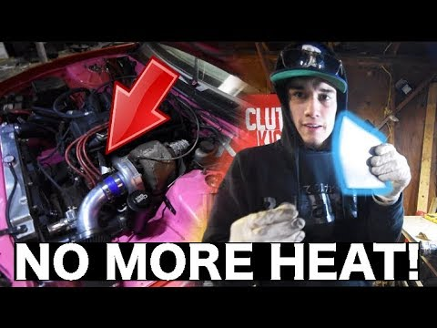 DIY Distributor Heat Shield! NO MORE HEAT! | KA24DE (DET)