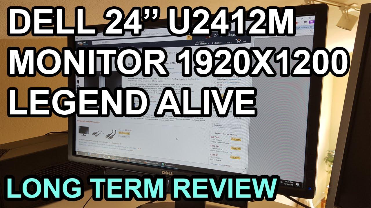 Dell Precision T7600 U2412M Monitor Drivers Windows