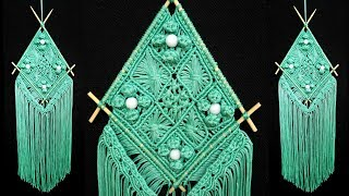 How To Make Macrame Wall Hanging | Step by Step tutorial | DIY Wall Hanging Tapestry
