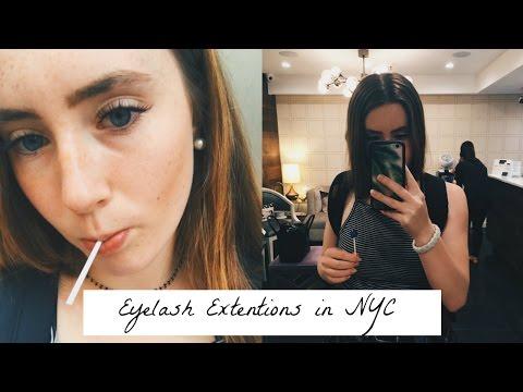 EYELASH EXTENSIONS/ NYC VLOG FAIL