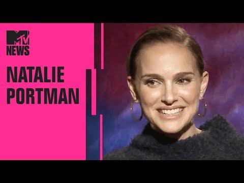 Natalie Portman Talks Millie Bobby Brown & SNL Sketch 'Natalie's Rap 2'  | MTV News