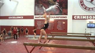 Alabama Gymnastics: Wow Wednesday with Kaitlyn Clark