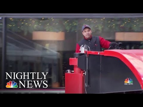 Meet The Man Who's Maintained The Rink At 30 Rock For Three Decades | NBC Nightly News