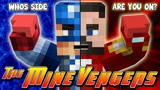 Repeat youtube video Minecraft MineVengers - CAPTAIN AMERICA, CIVIL WAR!!!!