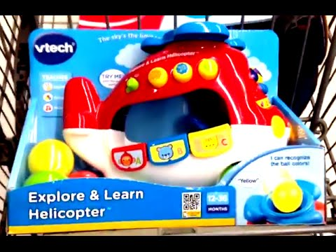 Vtech Explore & Learn Helicopter - YouTube