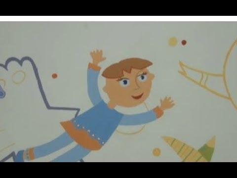 ТРК ВіККА: Реабілітація мистецтвом: тервідділення реабілітації для дітей прикрасили авторським панно