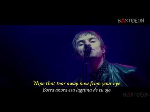 Oasis - Champagne Supernova (Sub Español + Lyrics)