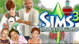 The Sims 3: Trevino Legacy Challenge - {Part 27} Mid-Life CRISIS!