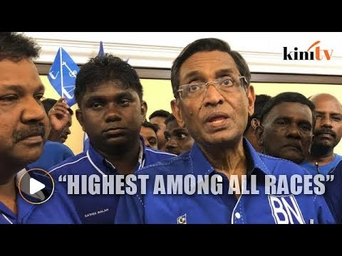 MIC: Indian support for BN now highest among all races