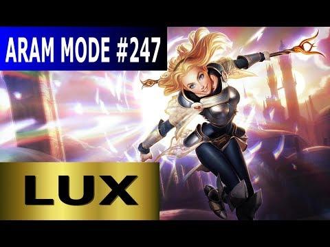 Lux - Aram Mode #247 Full League Of Legends Gameplay [Deutsch/German] Let's Play LoL