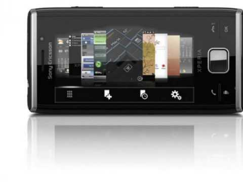 Sony Ericsson Xperia X2: video gallery