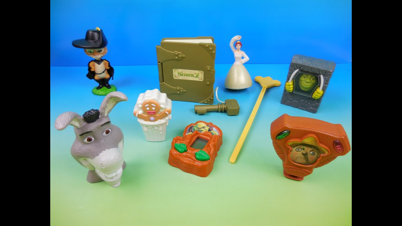 By 8 Burger Meal 2004 Toys 2 King Review Set Shrek Of Video Fastfoodtoyreviews Kids Movie 54jLAR