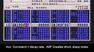 Amiga Protracker 2.x quick demo by cTrix