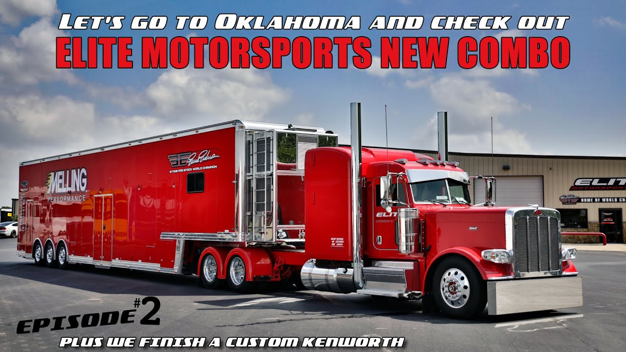 Let's go to Oklahoma and check out Elite Motorsports new truck and trailer combo!  Episode #2