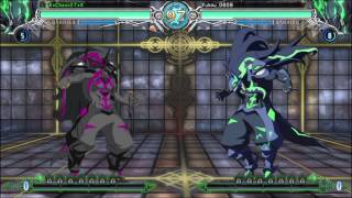 BLAZBLUE CENTRALFICTION Susanoo is a monster
